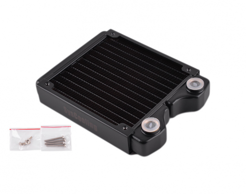 Syscooling PT120 copper heat radiator black color 240 mm water cooling radiator for CPU GPU water cooling system