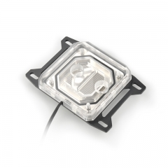 Syscooling Al-C55X (AMD) PC water cooling AMD CPU water block with RGB for AM4 Ryzen socket 3 5 7 9