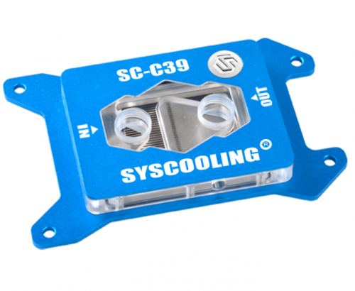 Syscooling CPU Water Cooling Block C39 Water Cooler AMD X399 TR4 platform thread tearer processor computer diy