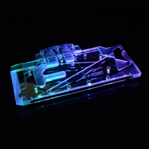 Syscooling GPU Water Block for ASUS TURBO-RTX2080-8G Gaming Full Cover Graphics Card water cooler