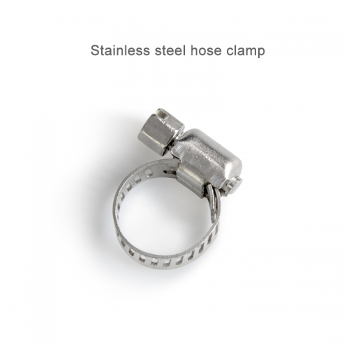 New 8~12mm/13~19mm Spring Band Type Fuel Vacuum Hose Silicone Pipe Tube Clamp Clip Steel Zinc Plated Clamps