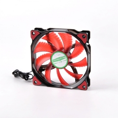 Syscooling DC12V 120mm 15lights LED cooling fan 20DB samll 3P